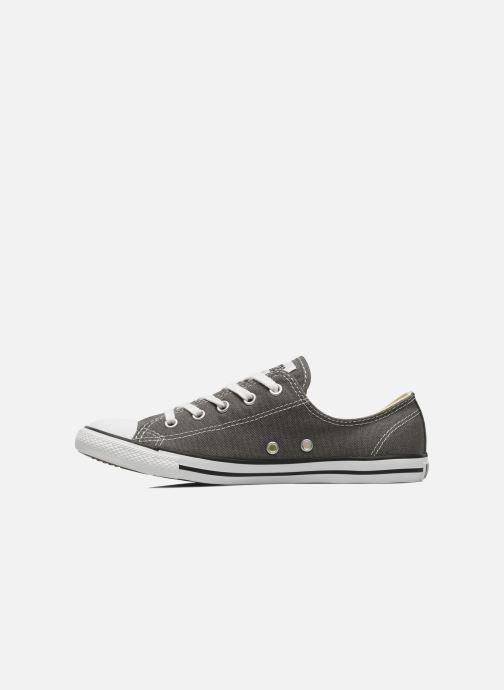 Deportivas Converse All Star Dainty Canvas Ox W Gris vista de frente